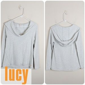 Lucy • Gray Hoodie [Tops]